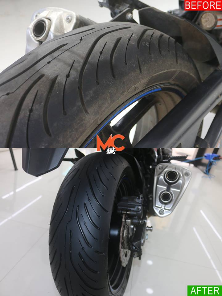 MOTORCYCLE COATING SERVICES