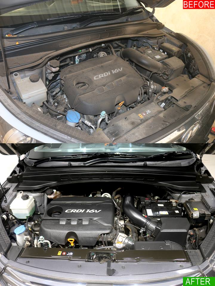 CAR ENGINE CLEANING SERVICES