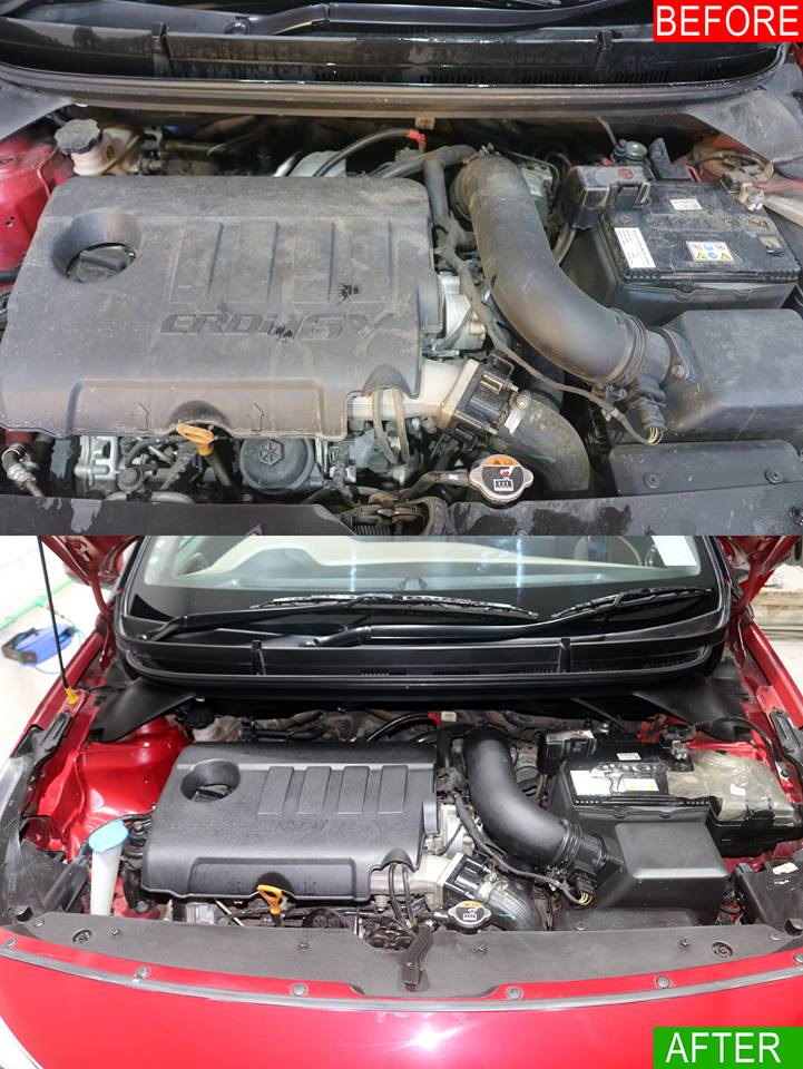 CAR ENGINE WASH SERVICES
